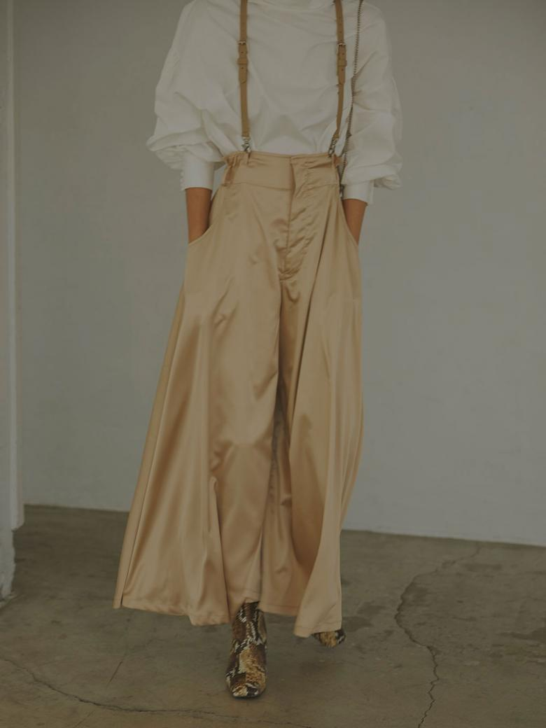 SLENDER SUSPENDER PANTS