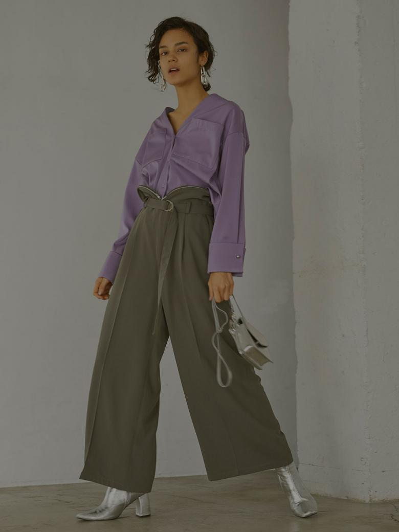 COIN PURSE WAIST PANTS