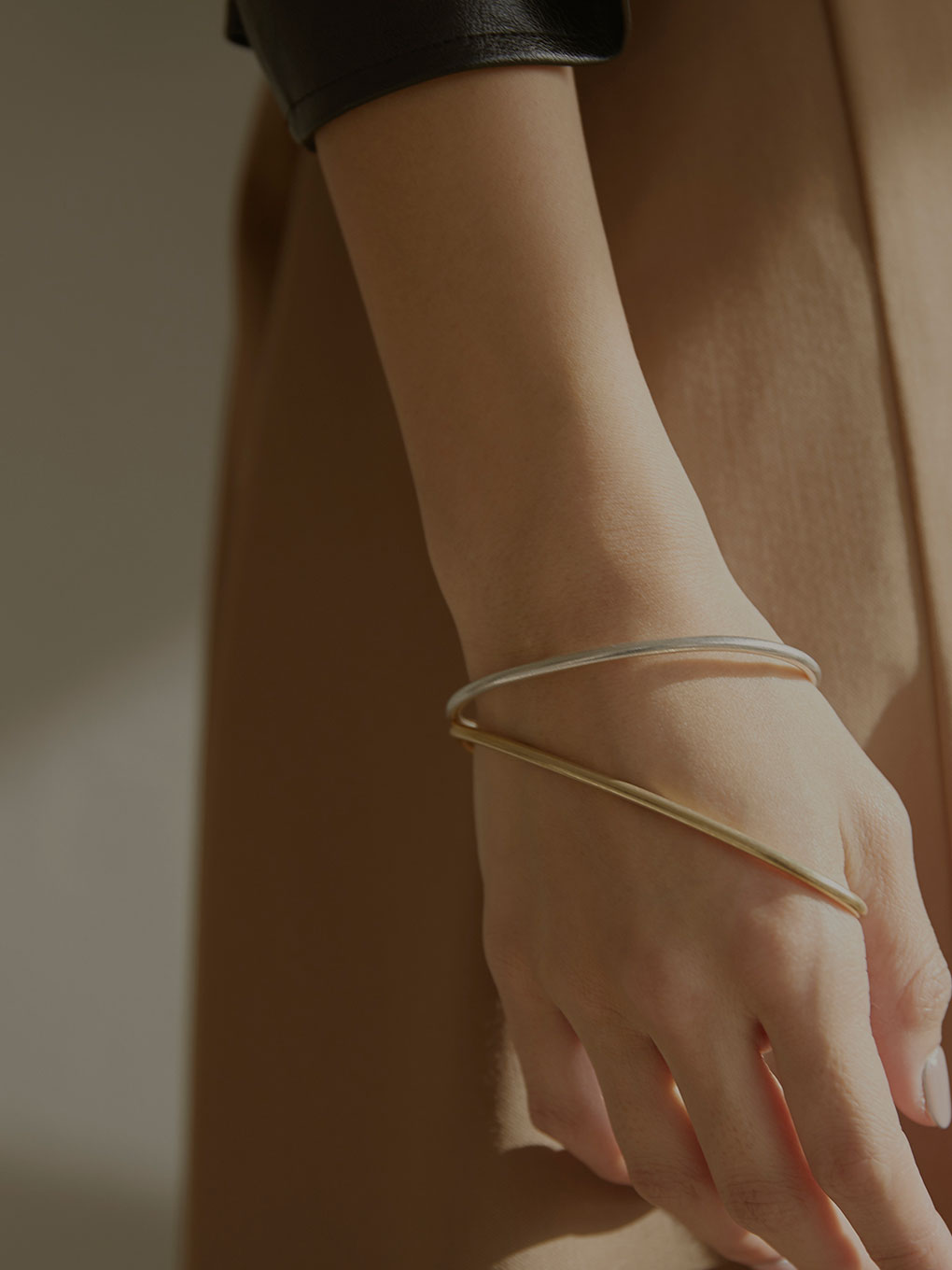 PUZZLE LINKS BANGLE