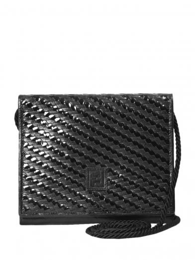 FENDI BRAID SHOULDER BAG