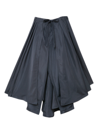 OLIVE FRILL PANTS