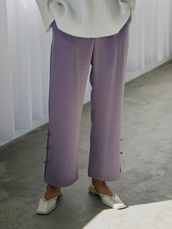 STRAIGHT CHINA PANTS