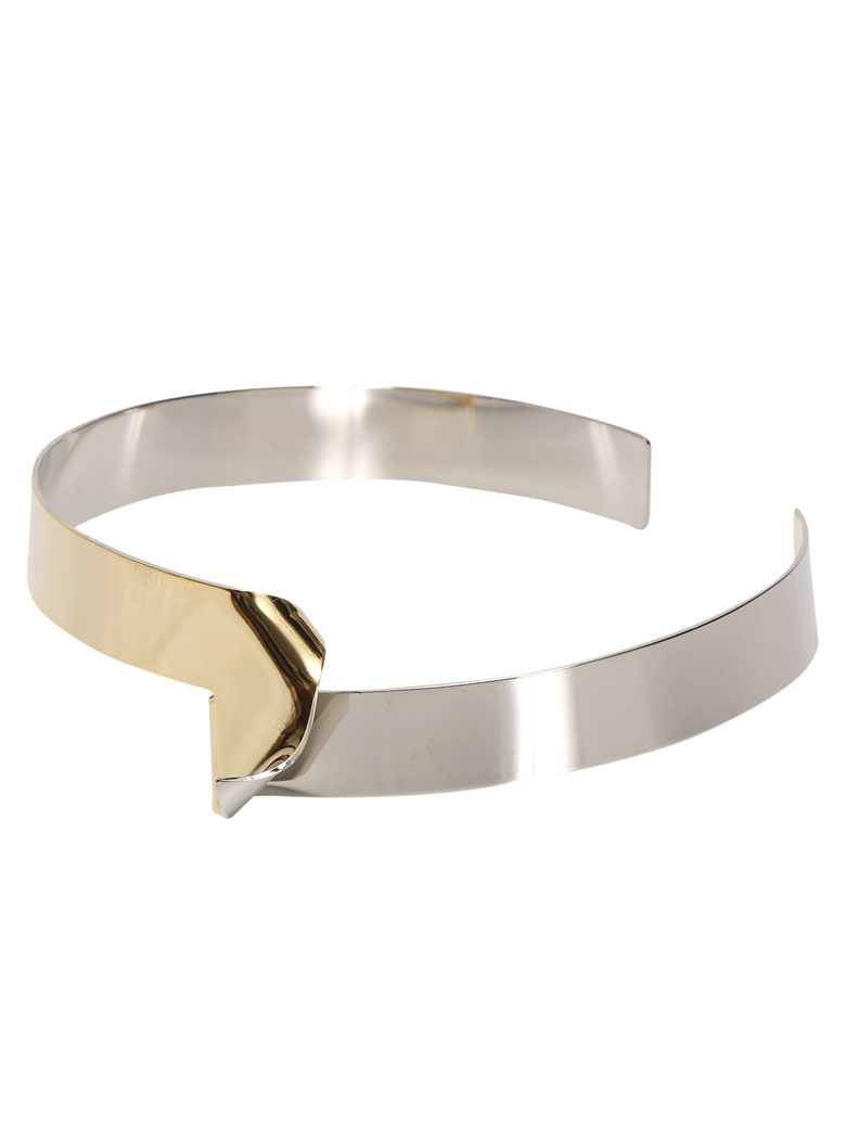 BILLOW TWO TONE CHOKER