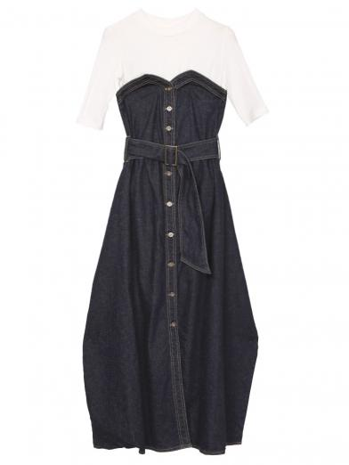DENIM UNIFY DRESS