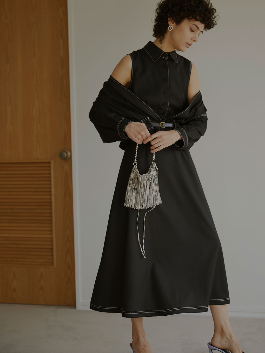 GENTLEWOMAN OVERLAP DRESS