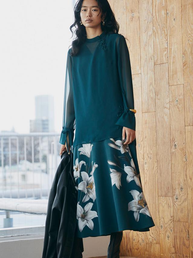 3WAY ADELA LAYERED DRESS