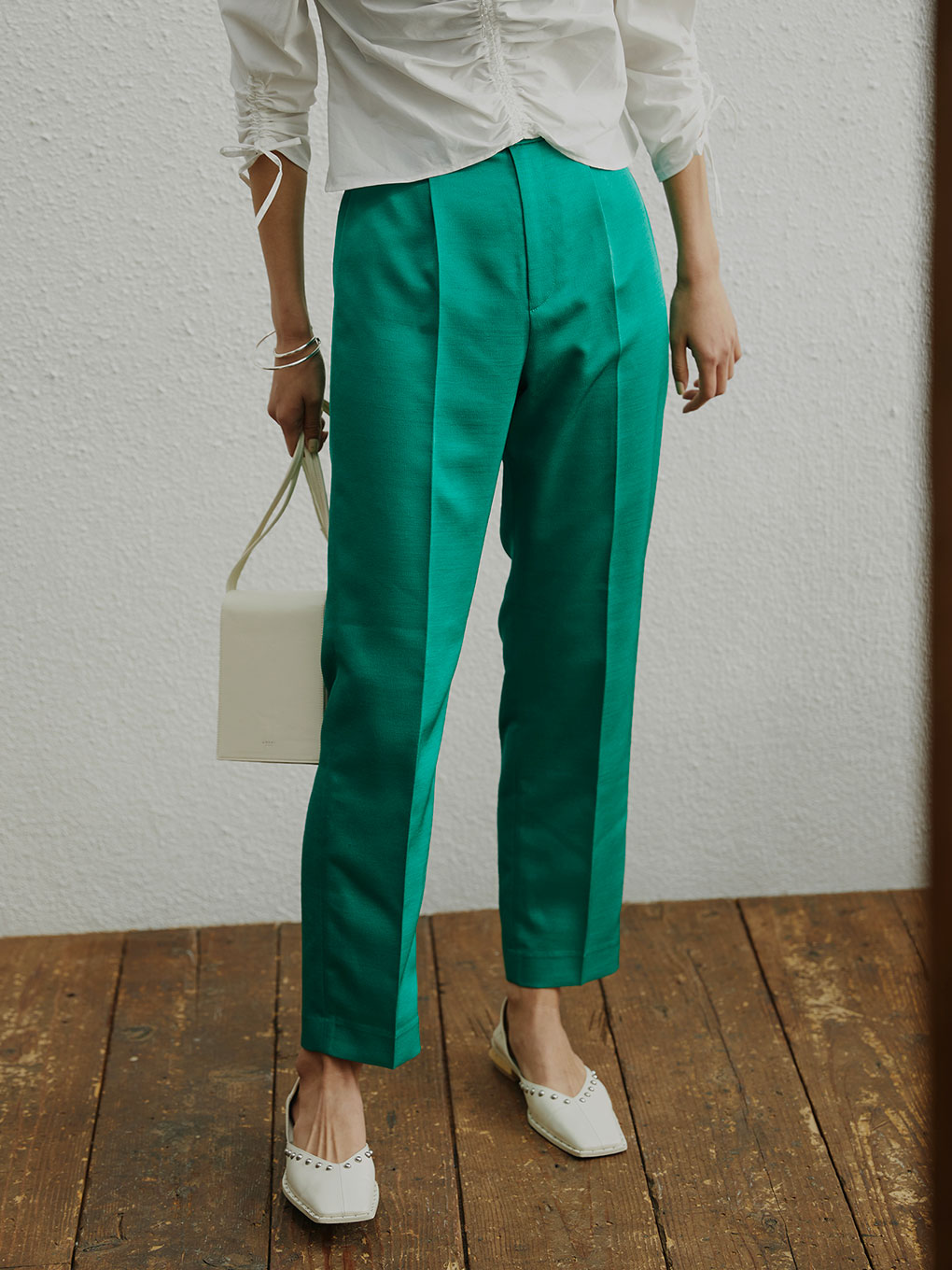 JELLY COLOR USEFUL PANTS