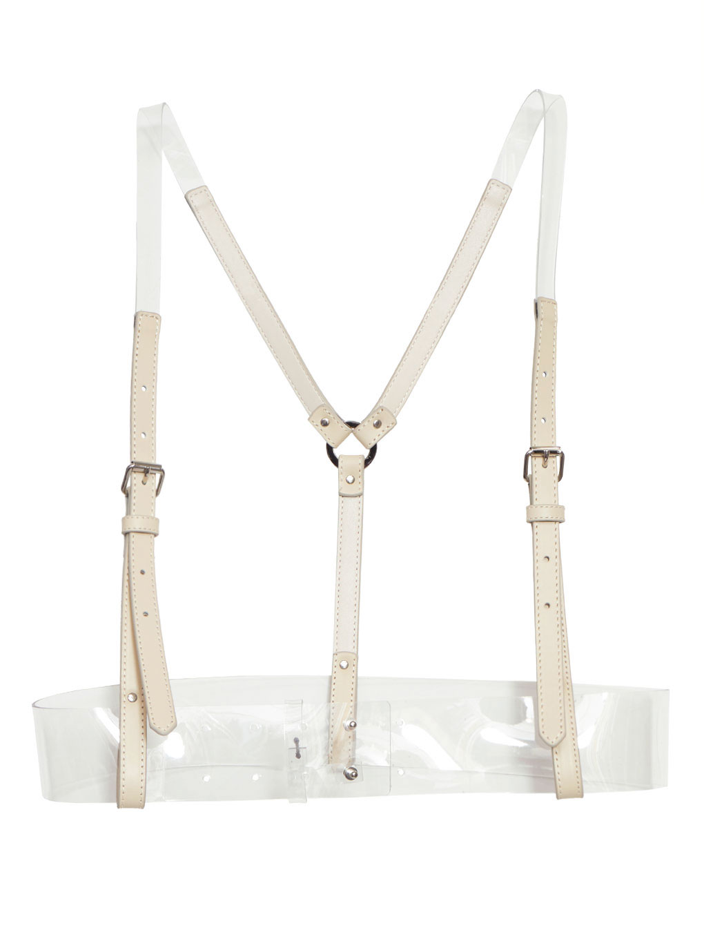 CLEAR SLENDER BELT HARNESS