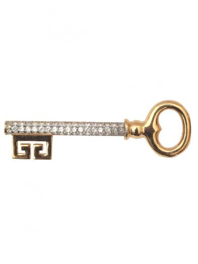 GIVENCHY KEY BROOCH