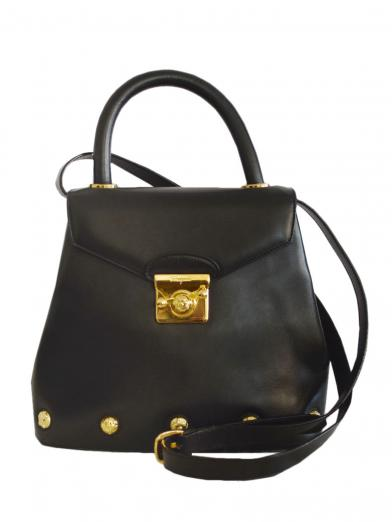 FERRAGAMO SHOES BUTTON BAG