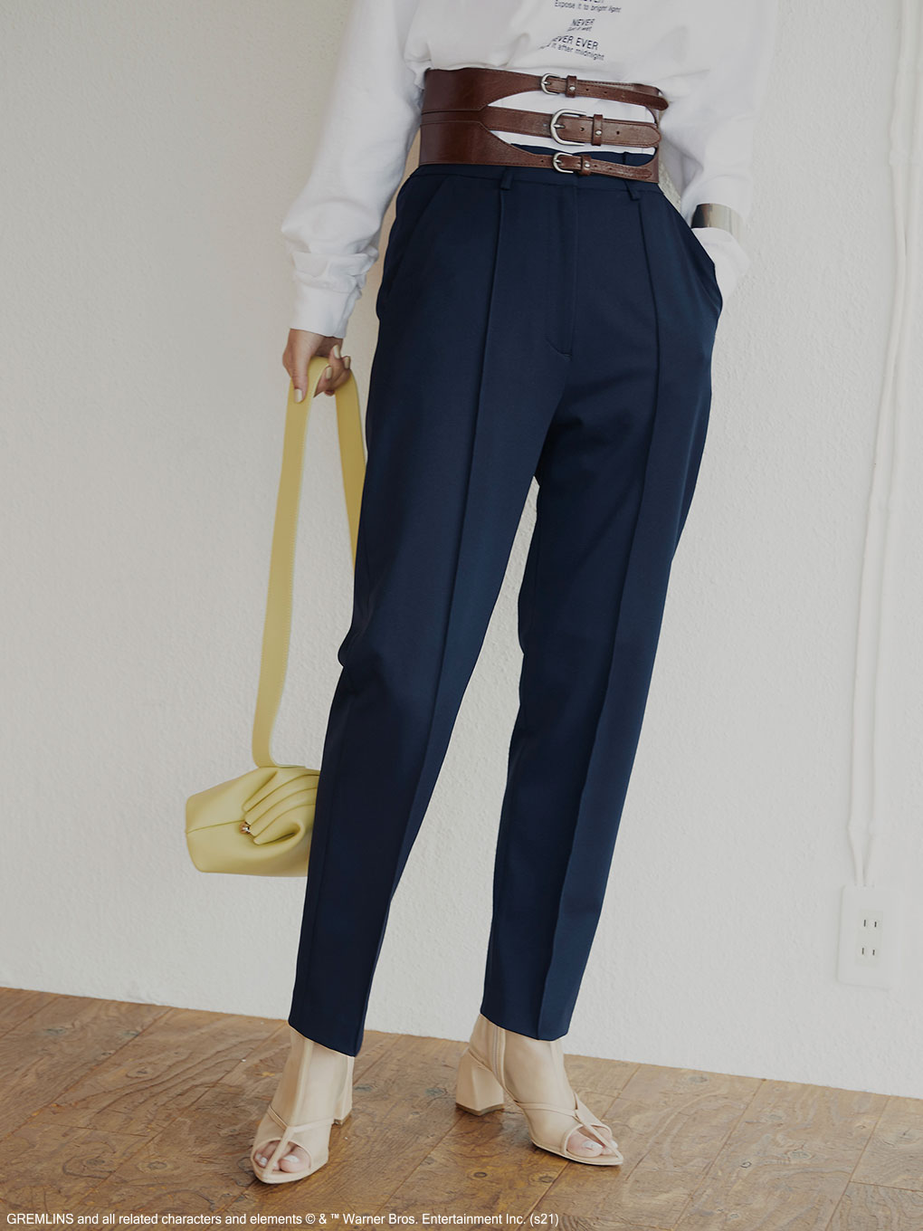 MANNISH TAPERED PANTS