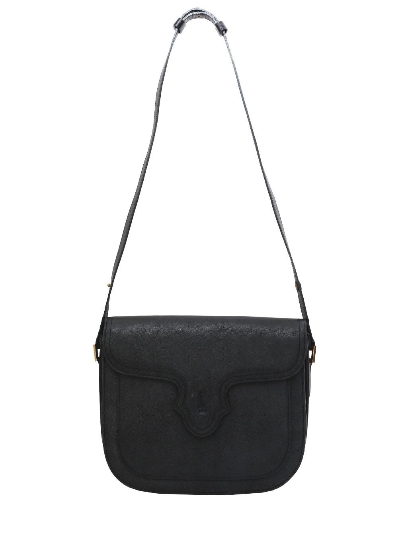 YSL ロゴステッチ型押し SHOULDER BAG