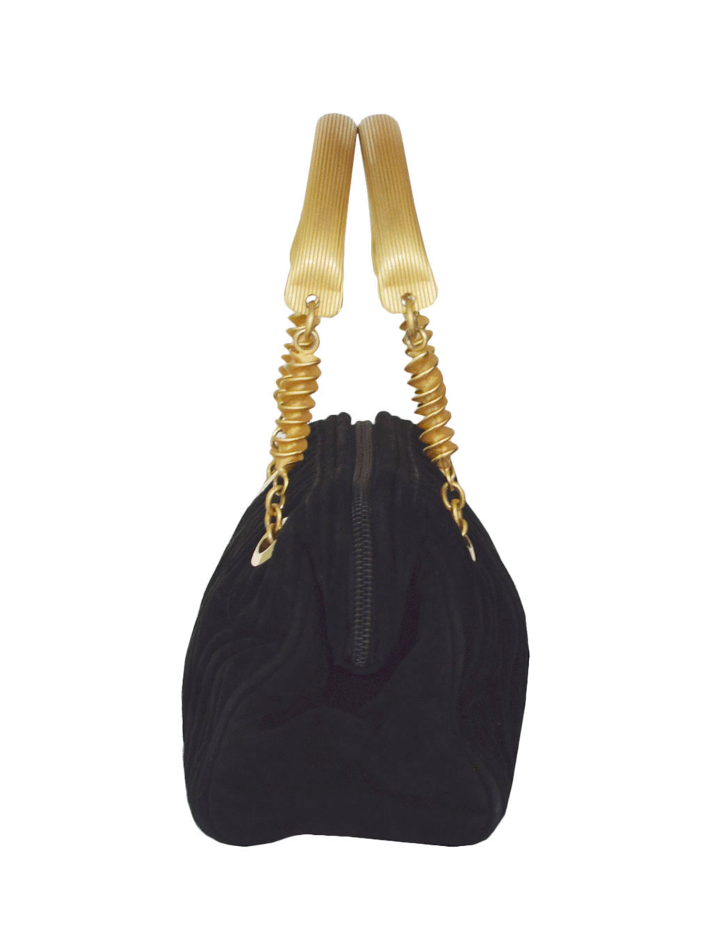 FENDI VELOR HAND BAG