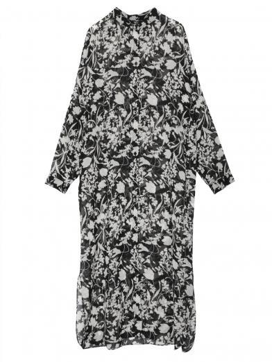 MONOFLOWER SHIRT DRESS