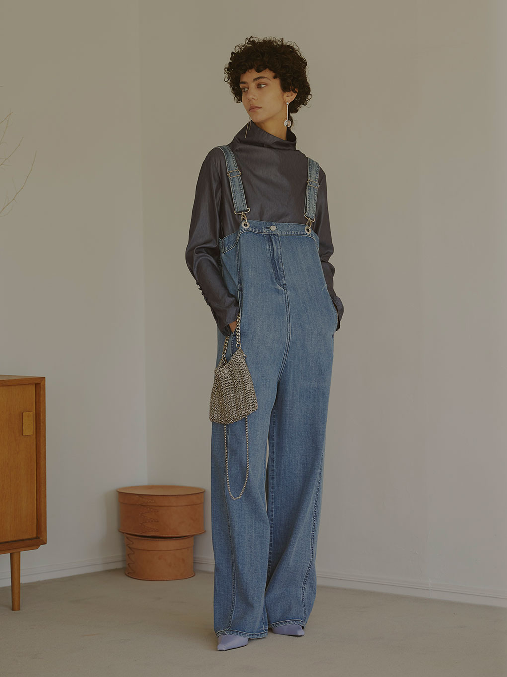 ADORKABLE OVERALL DENIM