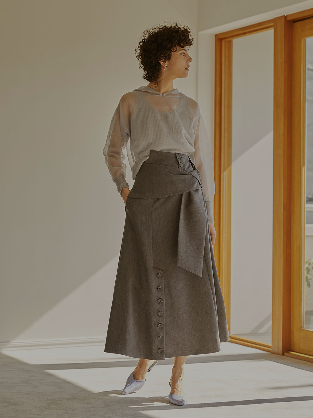 ITAZURA HIGH WAIST SKIRT