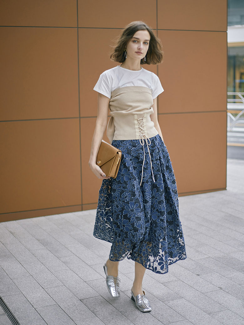 ANTHESIS LACE SKIRT