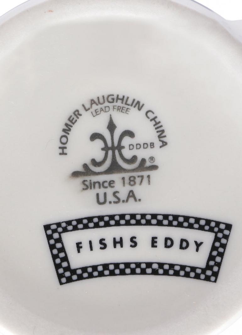 FISHS EDDY MANHATTAN BLUE PLATE SPECIAL MAG