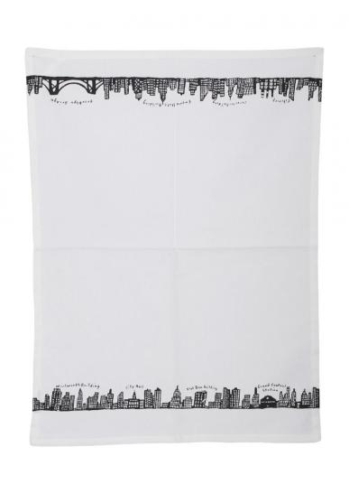 FISHS EDDY NEW YORK SKYLINE DISH TOWEL