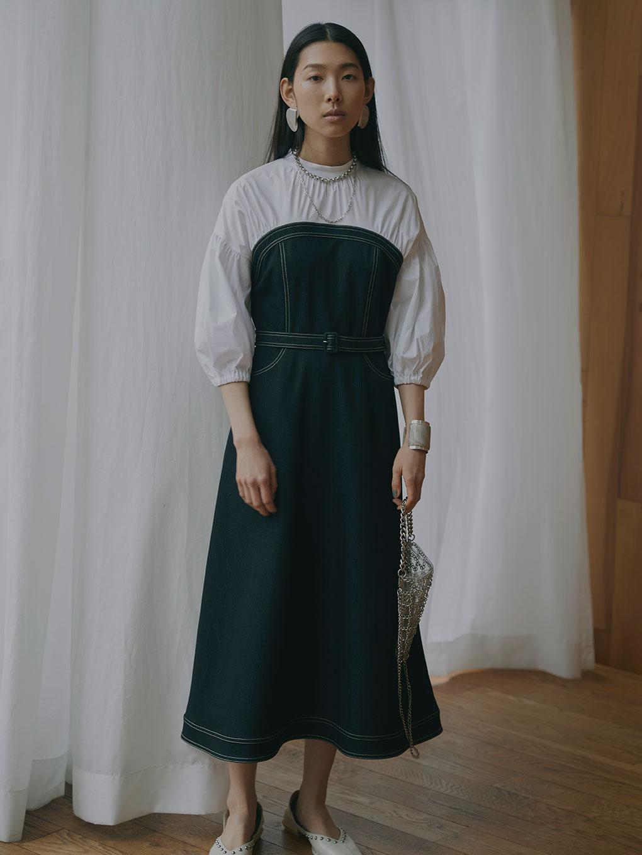 AFFOGATO SHIRT DRESS