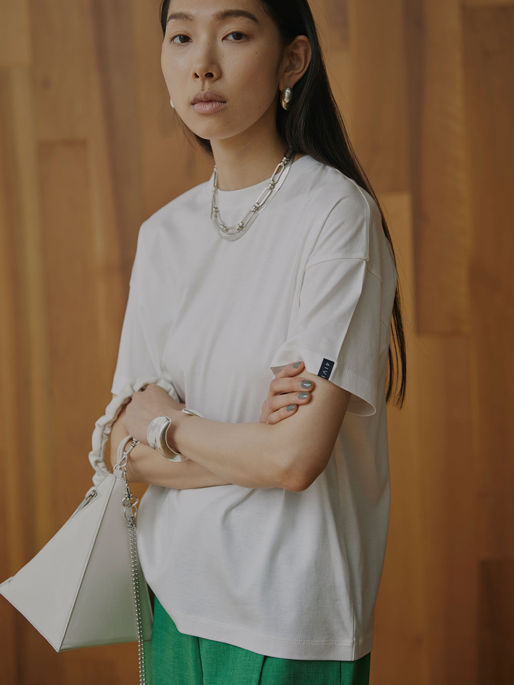 LUSTER SMOOTH TEE