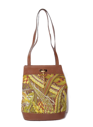 FERRAGAMO JANGLE PRINT BAG