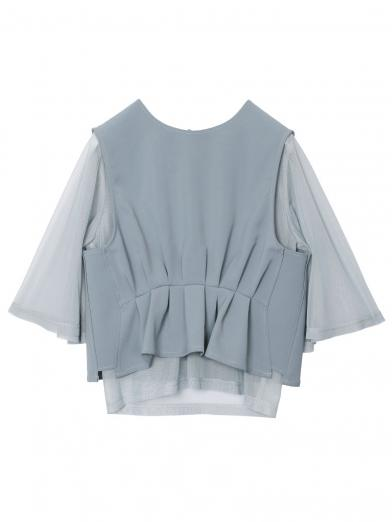 SEE THROUGH LAYERED TOP