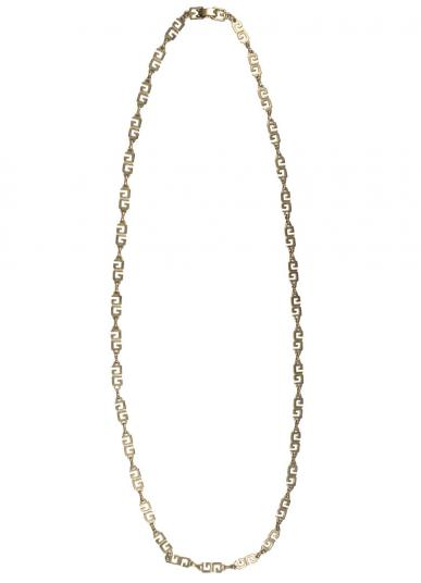 GIVENCHY LOGO CHAIN NECKLACE