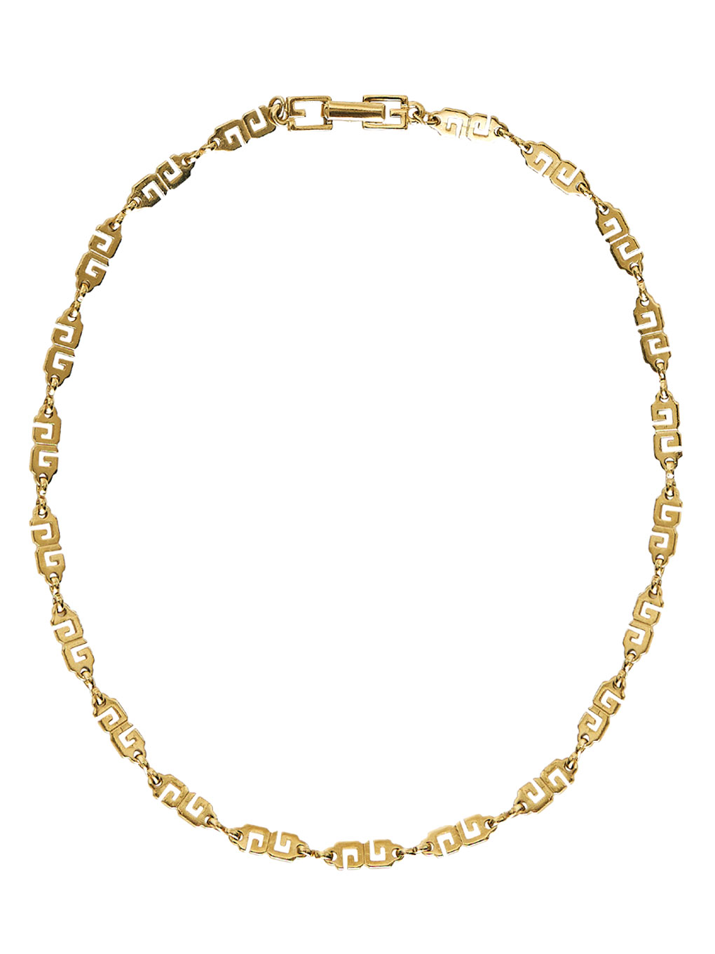 GIVENCHY LOGO GOLD NECKLACE