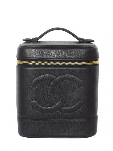 CHANEL CAVIAR SKIN VANITY BAG