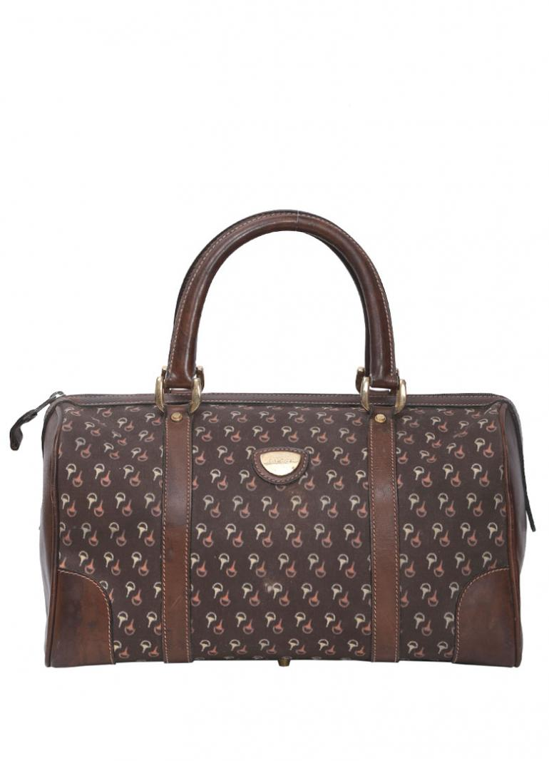 GUCCI PRINT BOSTON BAG
