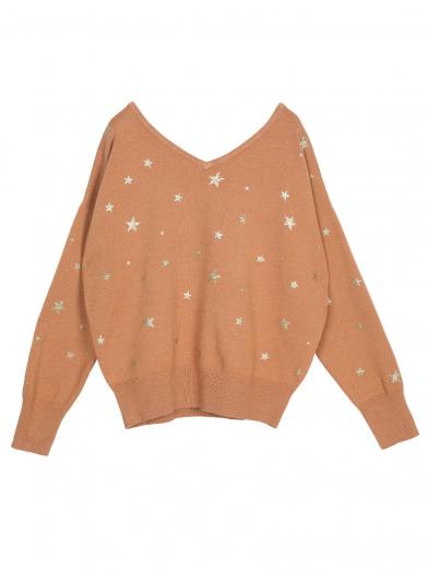 TWINKLE STAR KNIT TOP