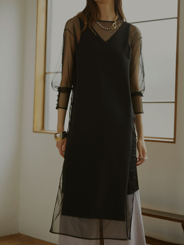 TULLE DOCKING DRESS