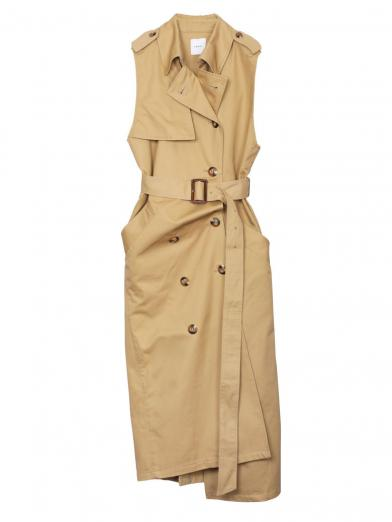 TRENCH LIKE DRESS