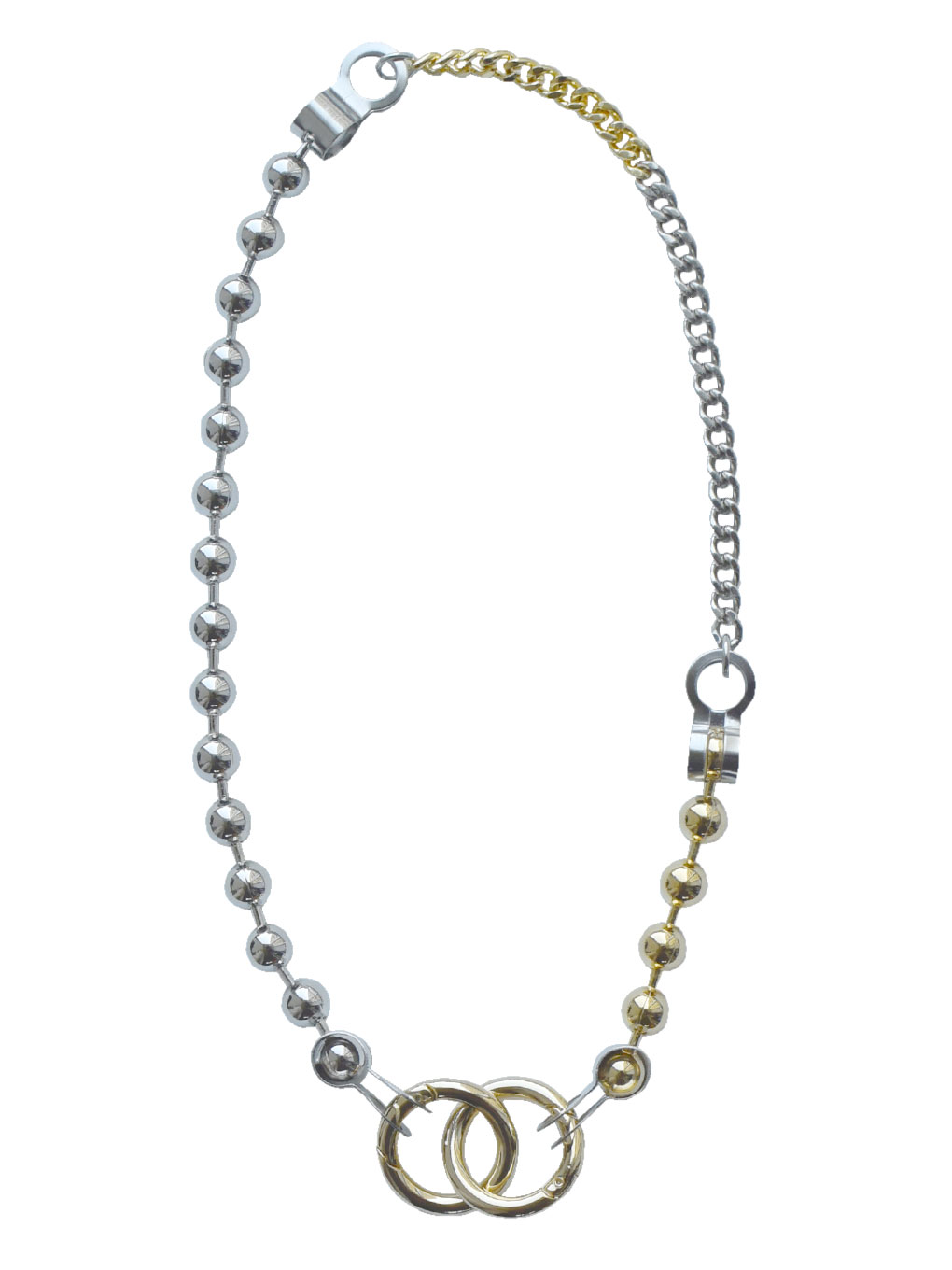 Bijou R.I Huge Ball Chain Necklace