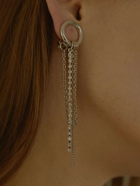 Bijou R.I Circle Earring