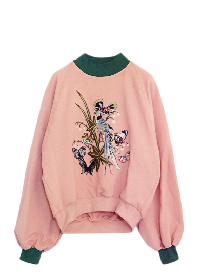 LILLY BELL EMBROIDERY TOP
