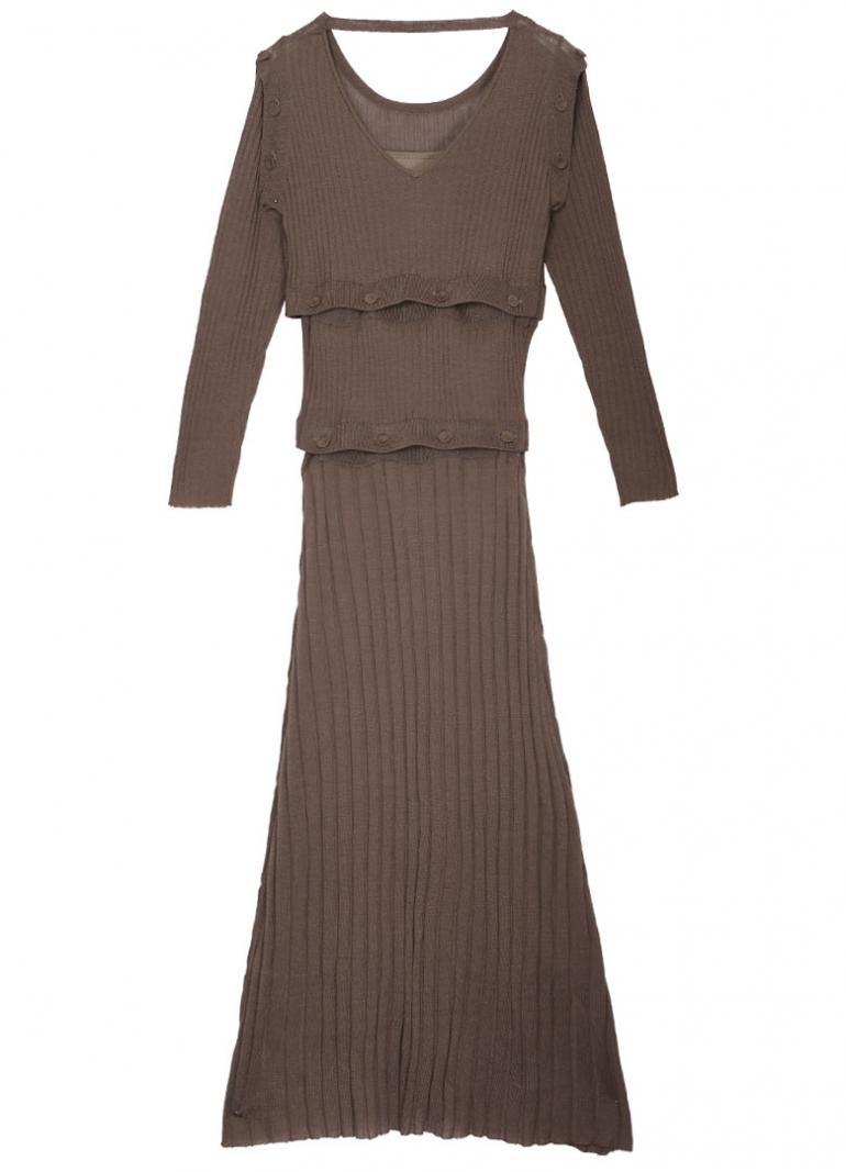 d3eed9b8de584 Ameri VINTAGE(アメリ ヴィンテージ)直営通販サイト   SEPARATING KNIT DRESS