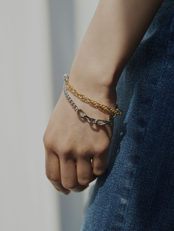 Bijou R.I Quattro Chain Bracelet