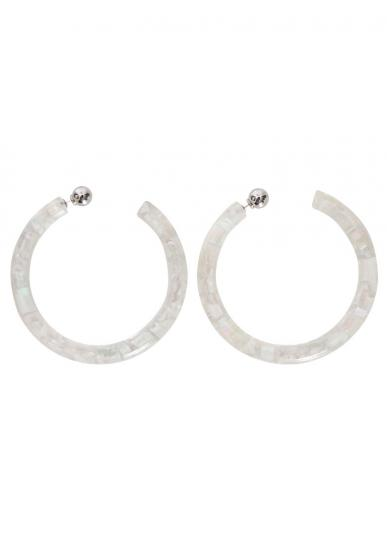 Bijou R.I Shell Big Hoop Pierce
