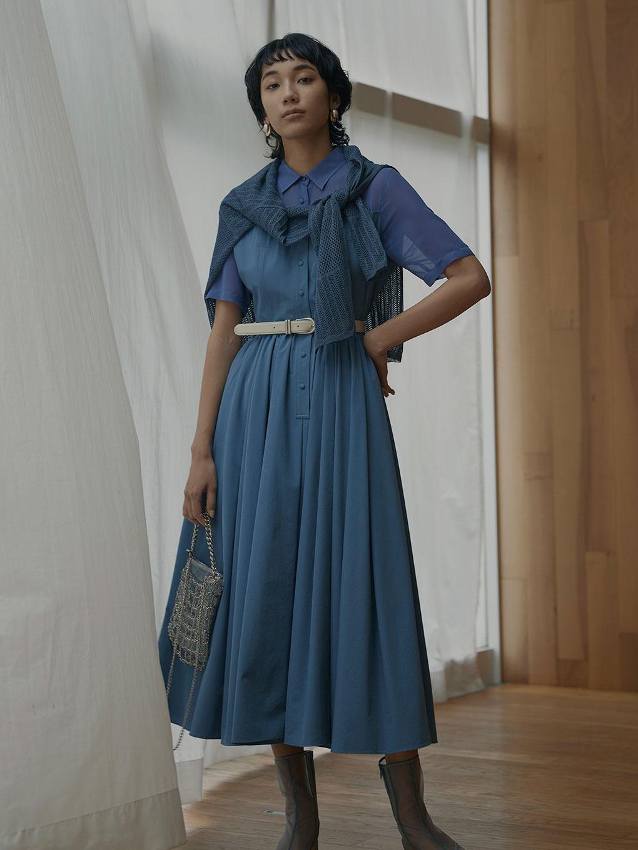 CORSET DOCKING DRESS