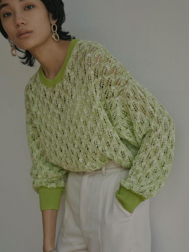 MEDI LOOSE CROCHET KNIT