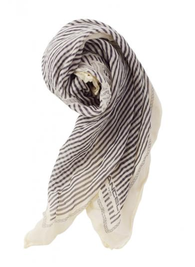 LANCEL STRIPE SCARF