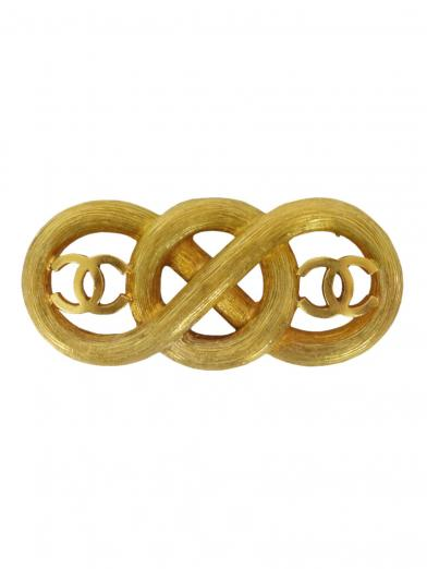 CHANEL ROPE COCO BROOCH