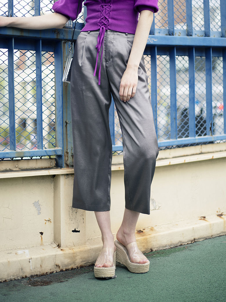 GLOSSY COLOR PANTS