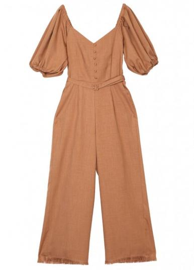 MEDI BACK TIE RIBBON ROMPERS
