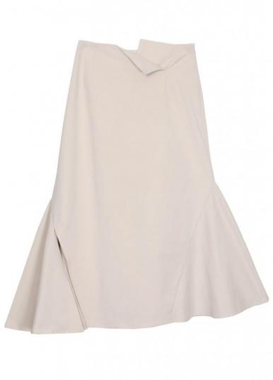 TRIANGLE HEM SKIRT