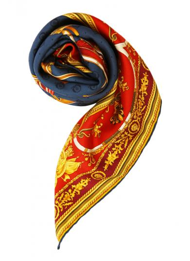 GUCCI MANY CHAIR SCARF