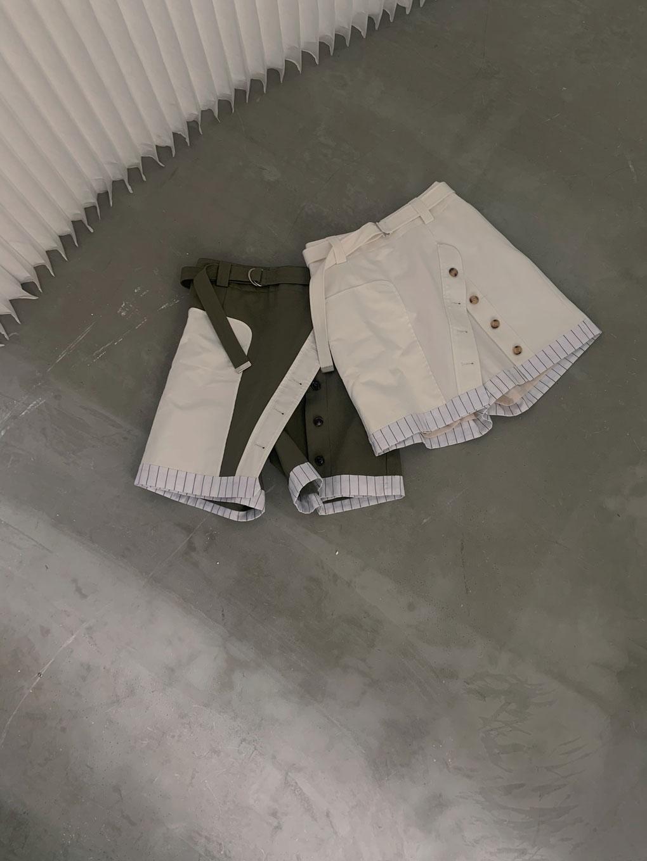 MEDI UP SIDE DOWN SHORT PANTS