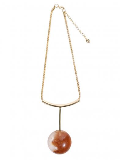 PLUTO MARBLE NECKLACE